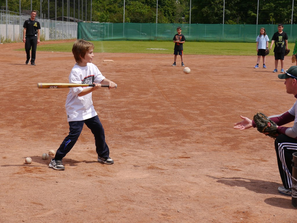 Baseball bei Mainz Athletics - Frauenlob-Gymnasium Mainz